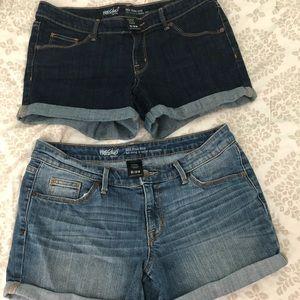 Mossimo Target Denim Shorts 8/29 (x2)